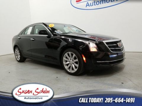 Pre-Owned 2018 Cadillac ATS 2.0L Turbo RWD 4D Sedan